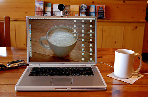 大活躍のノートパソコン