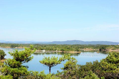 三重県志摩市といえばこの英虞湾の多島美