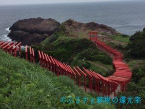 CNN「日本の最も美しい場所31選」に選ばれた元乃隅稲成神社もここ長門市に