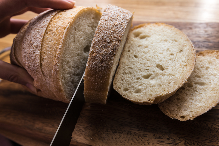 自家製 酵母パン